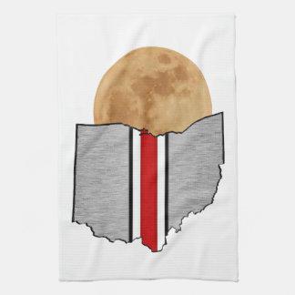 Ohio Moonlight Tea Towel