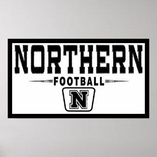Ohio Northern Football Poster