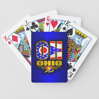 Ohio (OH) Bicycle Playing Cards