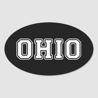 Ohio Oval Sticker