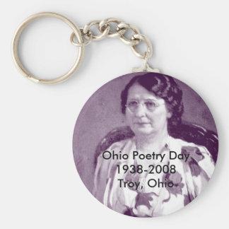 Ohio Poetry Day 1938-2008Troy, Ohio Key Ring