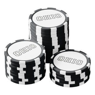 Ohio Poker Chips