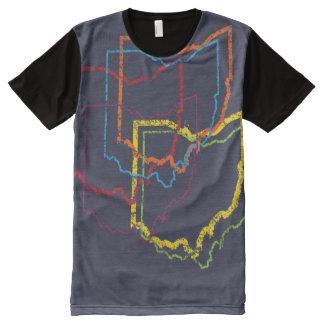 ohio pride blur All-Over print T-Shirt