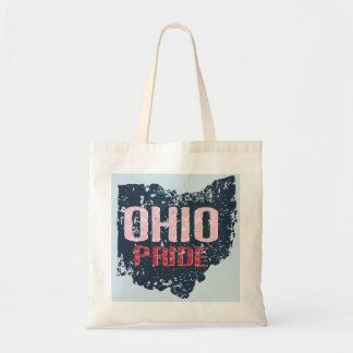 Ohio Pride Grunge Budget Tote Bag