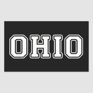 Ohio Rectangular Sticker