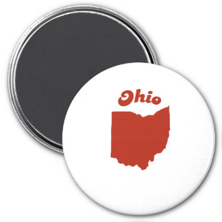 OHIO Red State Magnets