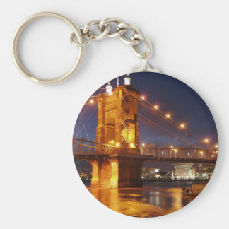 Ohio River Suspension Bridge Key Ring