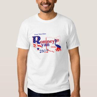 Ohio Romney and Ryan 2012 T-Shirt Customize It!  2