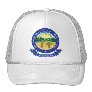 Ohio Seal Trucker Hats
