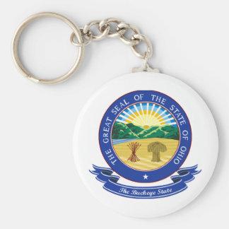 Ohio Seal Key Ring