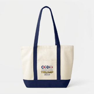 Ohio Stands With Trump 2016 tote bag