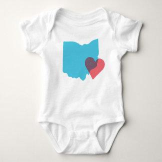Ohio State Love Baby Shirt