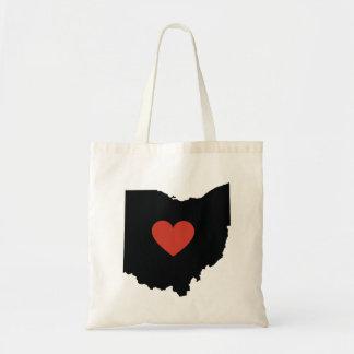 Ohio State Love Book Bag or Travel Tote