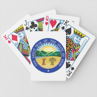 Ohio State Seal Bicycle Playing Cards