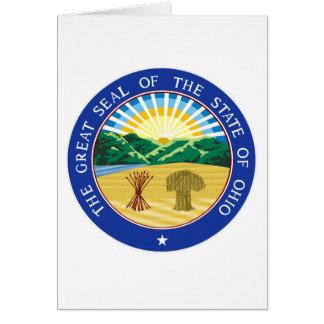 Ohio State Seal Card