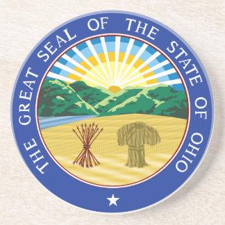 Ohio State Seal Coaster