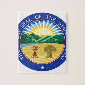Ohio State Seal Jigsaw Puzzle