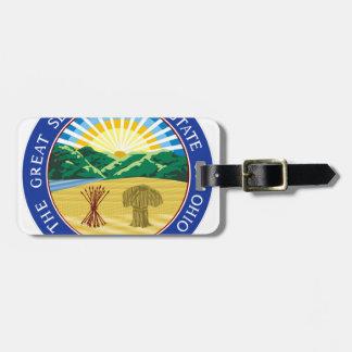 Ohio State Seal Luggage Tag