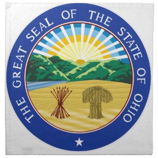 Ohio State Seal Napkin