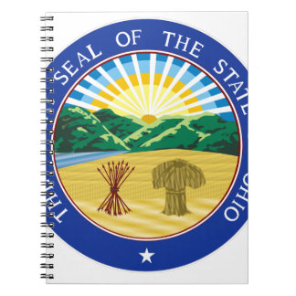 Ohio State Seal Notebook