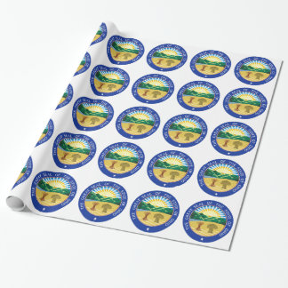 Ohio State Seal Wrapping Paper