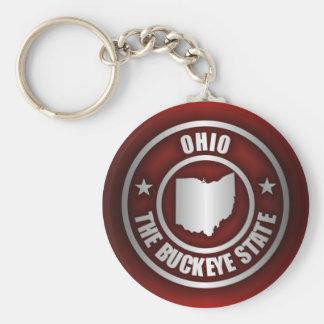 Ohio Steel (Red) Key Ring