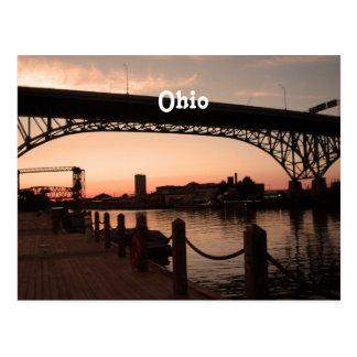 Ohio Sunset Postcard