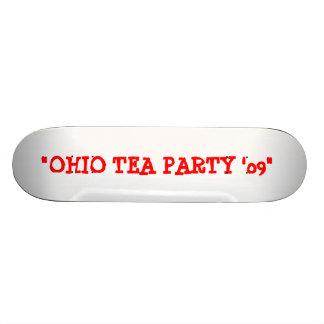 """OHIO TEA PARTY '09"" SKATEBOARD"