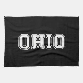 Ohio Tea Towel