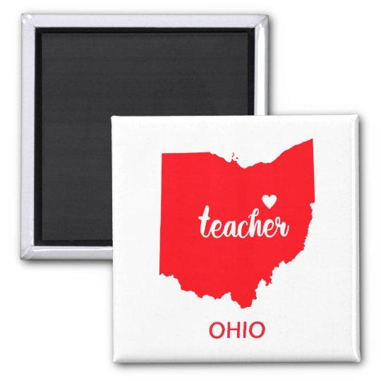 Ohio Teacher Magnet