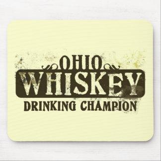 Ohio Whiskey Drinking Champion Mouse Mats