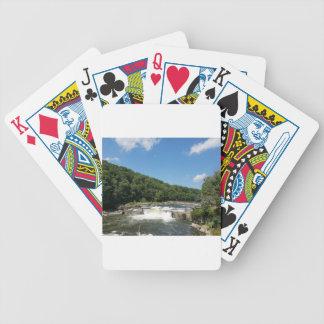 Ohiopyle, Pennsylvania Bicycle Playing Cards