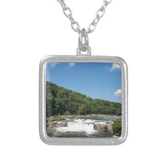 Ohiopyle, Pennsylvania Silver Plated Necklace