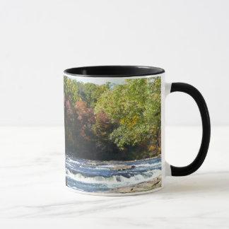 Ohiopyle River Rapids in Fall Mug