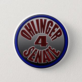 Ohlinger For Senate Pin... 6 Cm Round Badge