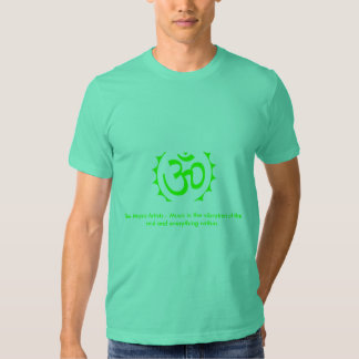 ohm2, The Music Artists - Music is... - Customized T Shirts