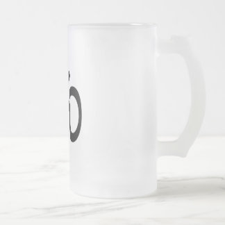Ohm Frosted Glass Mug