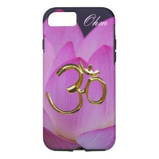 Ohm lotus flower Customize iPhone 7 Case