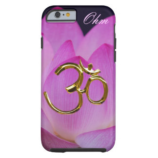 Ohm lotus flower Customize Tough iPhone 6 Case
