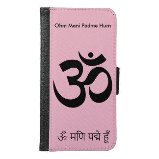 Ohm Mani Padme Hum Samsung Galaxy S6 Wallet Case