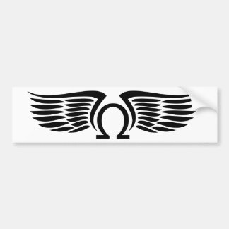 Ohm of on Wings autosticker Bumper Sticker
