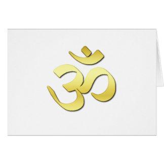 Ohm Symbol Card