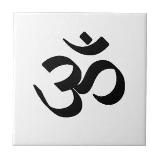 Ohm Symbol Ceramic Tile