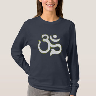 Ohm Symbol Womens Dark T-Shirt