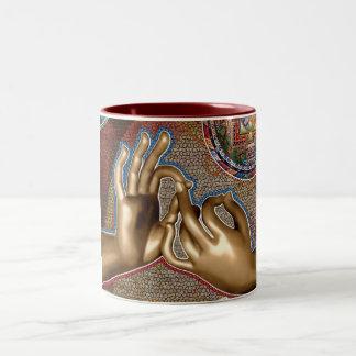 OHM Two-Tone COFFEE MUG