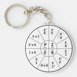 Ohm's Law for DC Key Ring