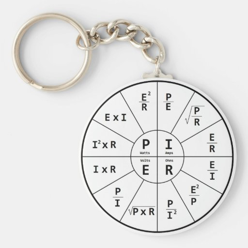 Ohm's Law for DC Keychain