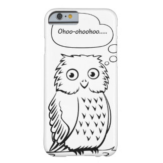 """Ohoo..."" Owl Barely There iPhone 6 Case"
