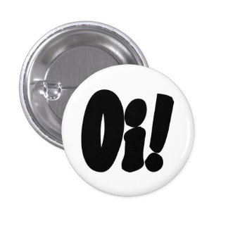 Oi! Streetpunk 3 Cm Round Badge