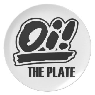 Oi! The Plate! Dinner Plates
